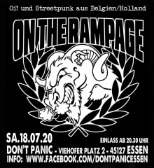 On the Rampage - Live (Ticket) 18.07.2020 Don´t Panic Essen