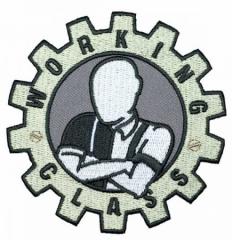 Working Class - Skinhead (Patch) gestickt