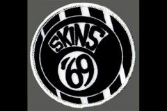 Skins 69´-  (Patch) gestickt