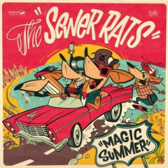 Sewer Rats - Magic Summer (LP) piss yellow Vinyl