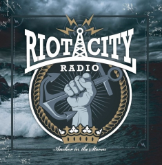 Riot City Radio - Anchor in the storm (LP) 4 Track EP dark blue marbled Vinyl 150 copies