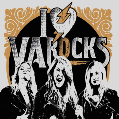 VA Rocks - I live VA Rocks (CD) Digipac