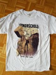 Sondaschule - Schere Stein, Papier Tshirt (white) white Rarität