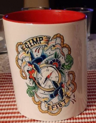 Gimp Fist - Kaffee-Pott (Tasse mit Henkel) Keramik