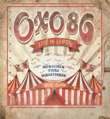 OXO86 - Live in Leipzig (DVD+2LP) limited smokey 180gr. Vinyl Edition Trifolder