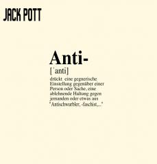Jack Pott - Antischwurbler (LP) limited red/white Swirl Vinyl 100 copies + MP3