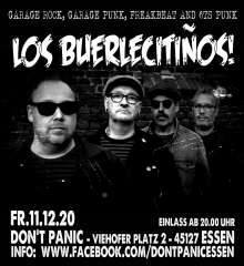 Los Buerlecitinos - Live! (Ticket) 11.12.20 Dont Panic Essen