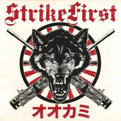 Strike First - Wolves (LP) limited ultra clear Splatter vinyl 200 copies