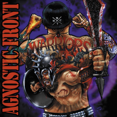 Agnostic Front - Warrior (LP) limited  Red/Blue/Black Splatter Vinyl