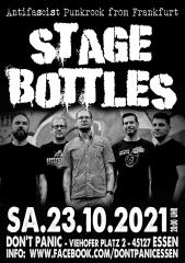 Stage Bottles - Live! (Ticket) 23.10.2021 Dont Panic Essen
