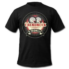 4 Promille - Überdruck T-Shirt (black)