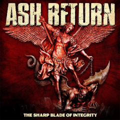 Ash Return - The Sharp Blade of Integrity (LP) red Vinyl limited
