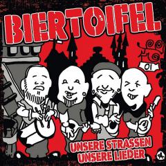 Biertoifel - Unsere Strassen, unsere Lieder (LP) red Vinyl + MP3