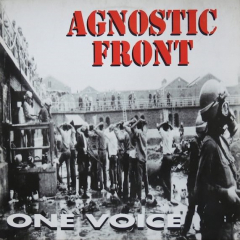Agnostic Front ‎– One Voice (LP) limited gold Vinyl