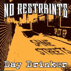 Day Drinker / No Restraints - Same Streets (EP) limited black Vinyl + MP3