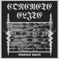 Concrete Elite - Absolute Guard (LP) lim 500, silver/black PRINTED B-Side Vinyl