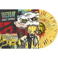 SEIZED UP – brace yourself (LP) mustard splatter Vinyl limited