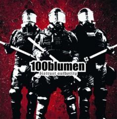 100Blumen - Distrust Authority (LP) black Vinyl + MP3
