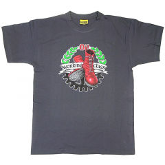 Working Class BootsnOi! - T-Shirt (grey) Edition No Name