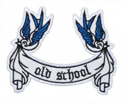 Swallows - Oldschool (Patch) sticked