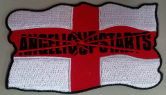 Angelic Upstarts England (patch) sticked