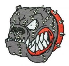 Violent Bulldog (patch) sticked