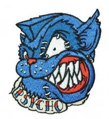 Psycho-Cat (patch) sticked