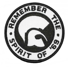 Remember the spirit of 69 (patch) sticked