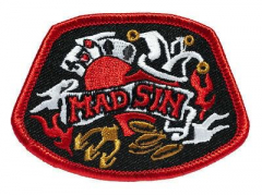 Mad Sin - Man´s ruin (patch) sticked