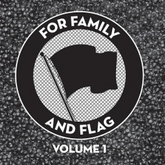v/a For Family And Flag  (LP) black Vinyl Cock Sparrer, Bishops Green, Lion´s Law...