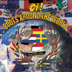 V/a OI! BOOTS AROUND THE WORLD VOL.1 (LP+CD) earth colored Vinyl