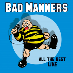 Bad Manners - All The Best Live (LP) limited black Vinyl