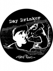 Day Drinker - First Round (LP) Special offset Printed B-Side limited black/ white Vinyl