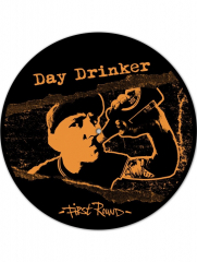 Day Drinker - First Round (LP) Special offset Printed B-Side limited black/ orange Vinyl