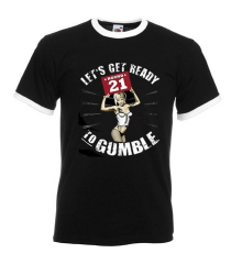 Gumbles -Ready to Gumble - Ringer T-Shirt (black)