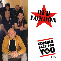 Red London - coming back for you (LP+CD) black Vinyl 400 copies