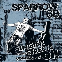 Sparrow 68 – singin on the streets (LP) blue Vinyl 100 copies