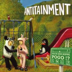 Antitainment - Nach der Kippe Pogo? (LP) limited gold Vinyl