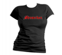 Berserker - Stay Brutal - Girly Shirt (black)