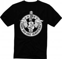 Trink und Singgemeinschaft - T-Shirt (black) limited 50 TSG OXO86