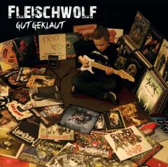 Fleischwolf - Gut Geklaut (LP) limited RednBlack Swirl Vinyl Gatefolder, Maxibooklet
