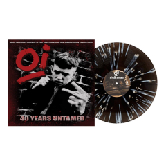 Gary Bushell presents Oi! 40 Years Untamed (LP) limited  ICE Splatter Vinyl