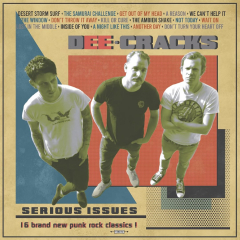 DeeCracks - Serious Issues (LP) Tricolor limited Vinyl