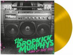Dropkick Murphys - Turn Up That Dial (LP) Ltd. gold Vinyl