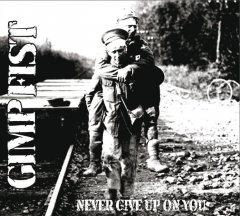 Gimp Fist - Never give up on you (LP+EP) 1st PRESS limited 250 clear Vinyl