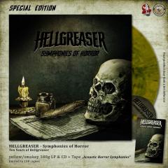 Hellgreaser -  Symphonies Of Horror (LP+CD+MC) Special Edition limit 100