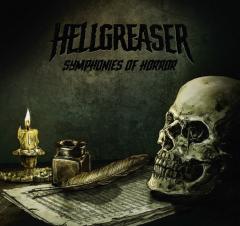 Hellgreaser - Symphonies Of Horror (LP+CD) Bloodred/Silver UNIQUE Vinyl limit 100