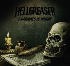 Hellgreaser - Symphonies Of Horror (LP+CD) smokey green/black Vinyl limit 100