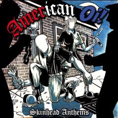 American Oi! - Skinhead Anthems (LP) white Vinyl Patriot, Hardsell, Mob Mentality, Doug & the Slugz