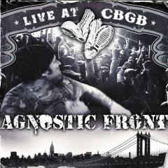 Agnostic Front - Live at CBGB (LP) limited clear/greyblack splatter Vinyl